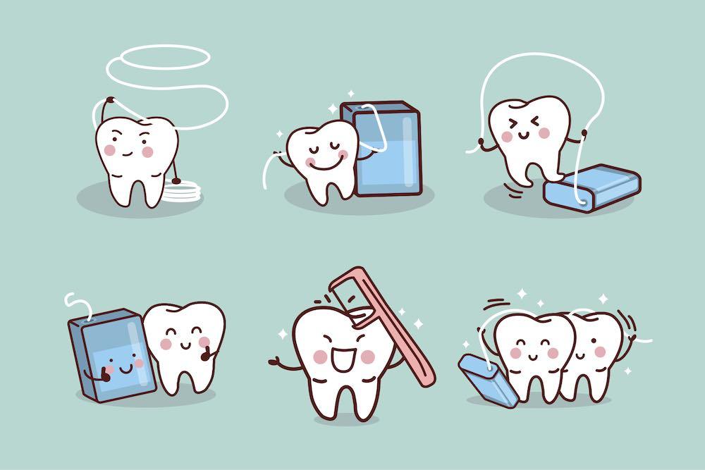Filo interdentale o spazzolino: quale deve essere utilizzato per primo? - Studio dentistico Wdent